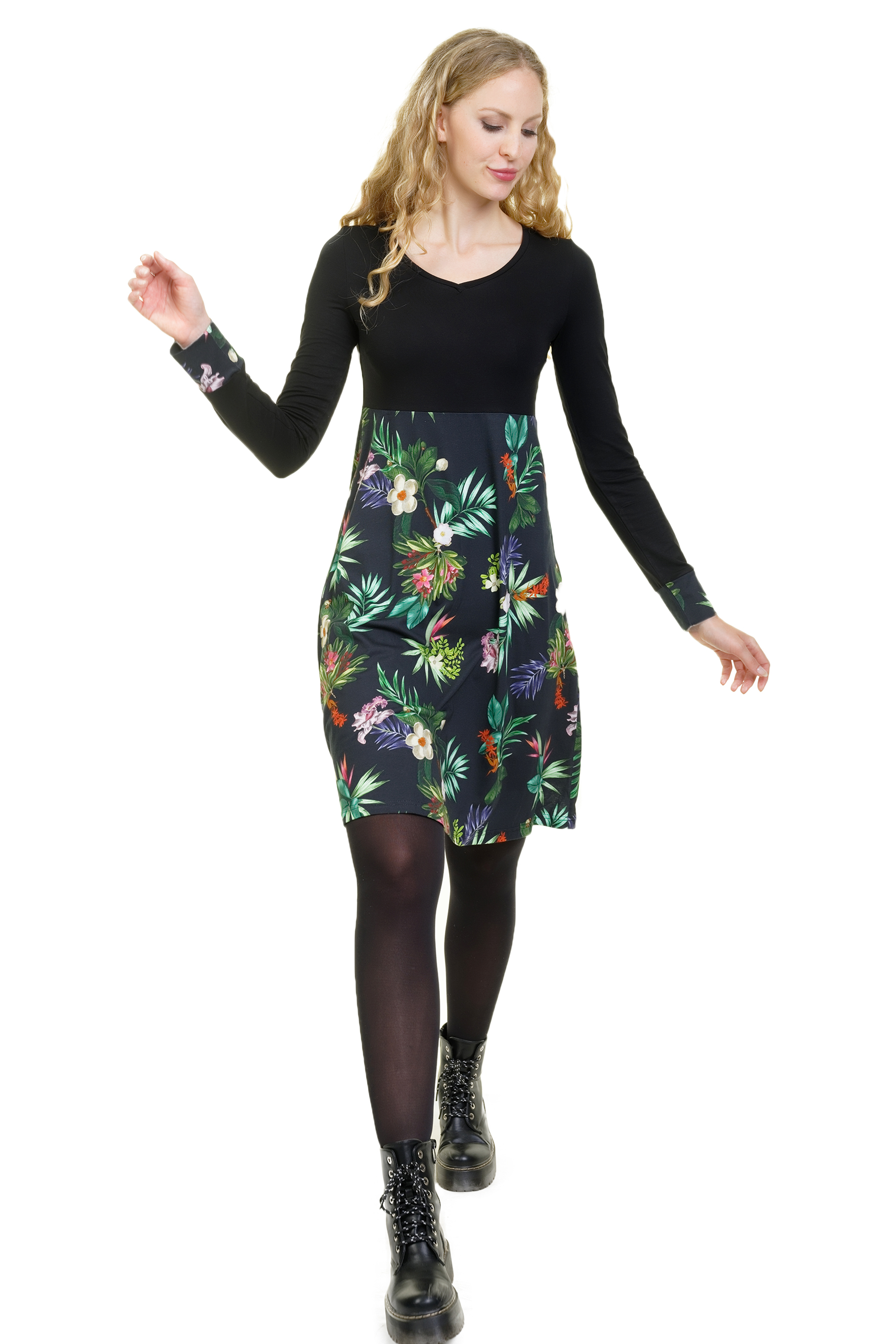 Lilly Lang Kleid Tropic
