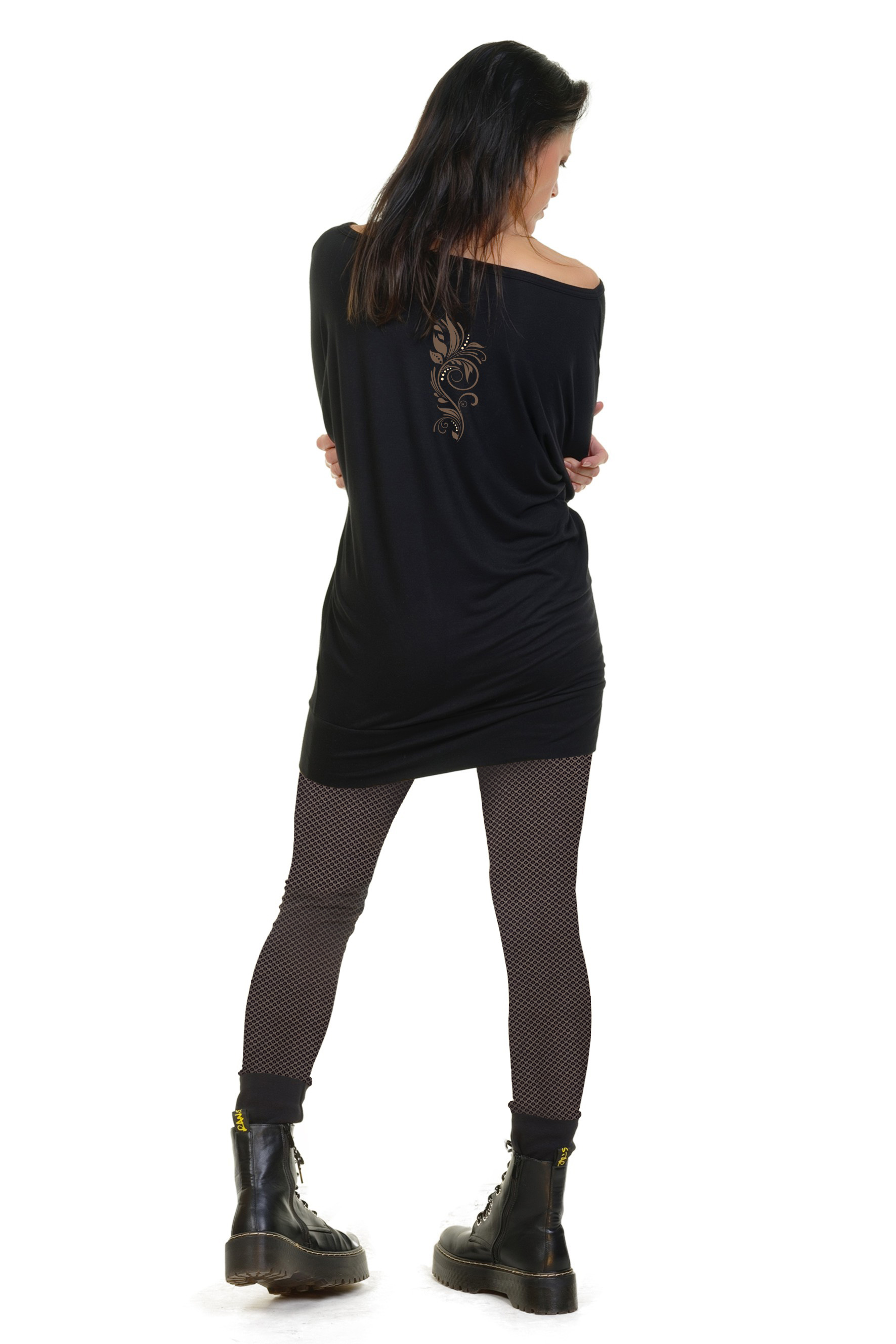 Barock Longdress & Leggins Kombi Angebot